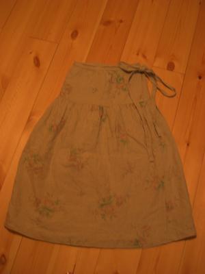 ティアード巻スカート