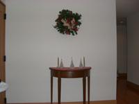 玄関飾りクリスマス