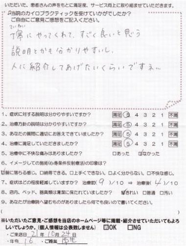 体験談090260