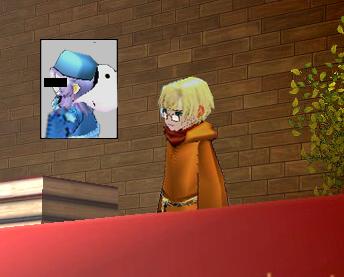 青き容疑者