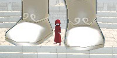 表編09:ジャイアントロボ、壇上に立つ