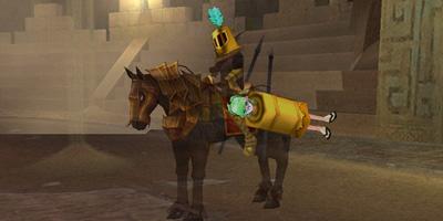 SS06:遺跡守護豆と遺跡守護馬(プリン付)