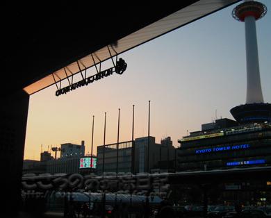 帰りの京都駅