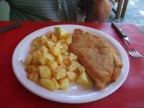 鶏肉のミラネッサ
