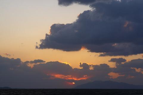 宍道湖夕日6
