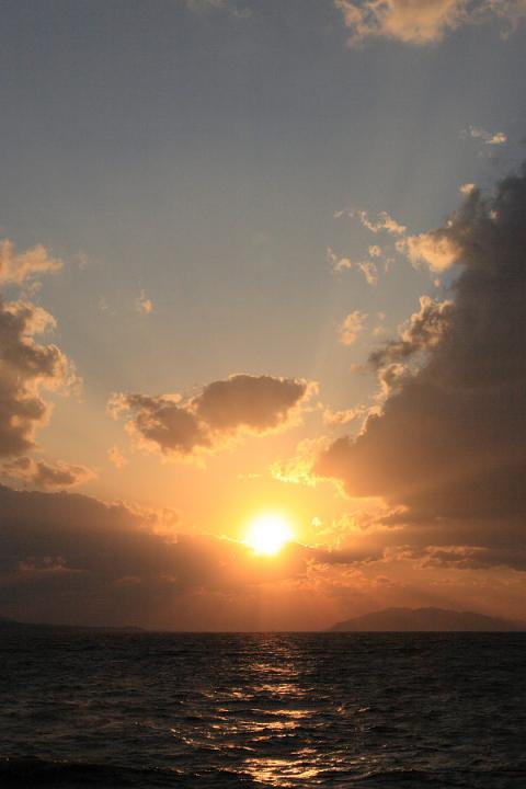 宍道湖夕日7