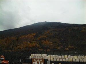 富士山5合目からの風景