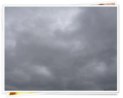 すごい雲??