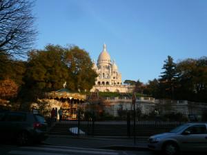 サクレクール寺院前