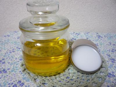 カレンデュラオイルと練り香水