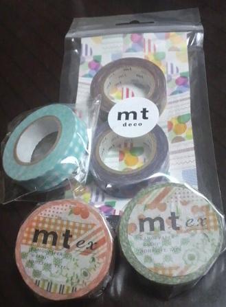 2011秋の新作マスキングテープ