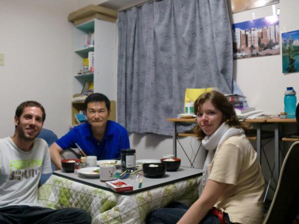 カウチサーフィン(シンガポール、イギリス、チリ)、イヴェッタとマーティンと私