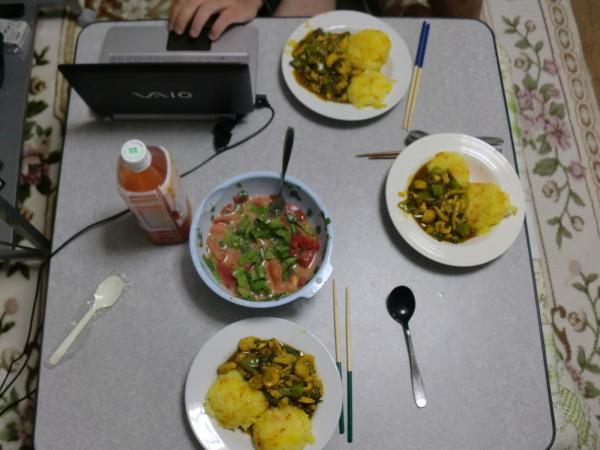 レンカの作った夕食