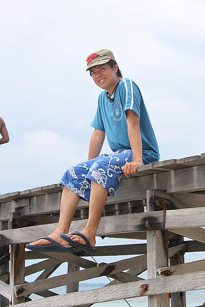 カウチサーフィン(インドネシア・アンドレ)、プロフィールから借用
