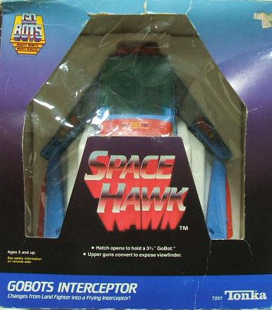 Gobots InterCeptor SpaceHawk