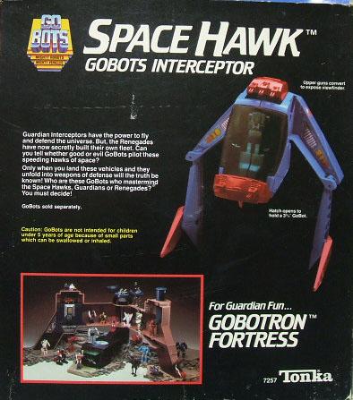 Gobots InterCeptor SpaceHawk (4)