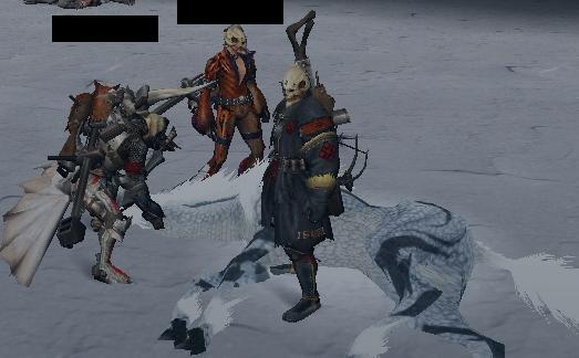 3人のスカルガンナー