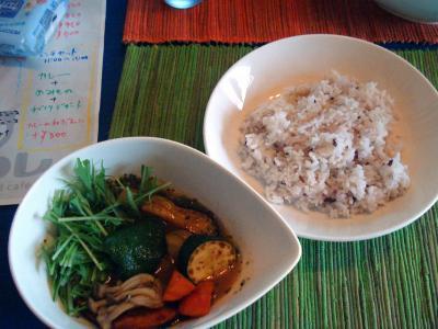 スープカレー野菜