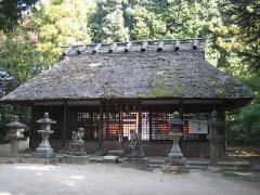 夜都伎神社拝殿