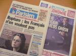 パリの新聞