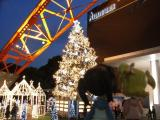 東京タワーのクリスマス・イルミネーションとピンキーたち