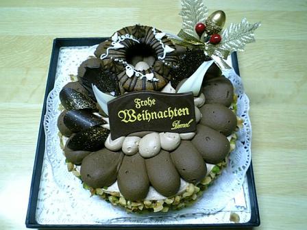 デメル2007 クリスマスケーキ