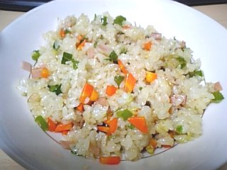 料理 2009年10月17日 炒飯