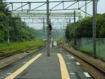 景色 2011年6月26日 浅野駅ホームから鶴見方面