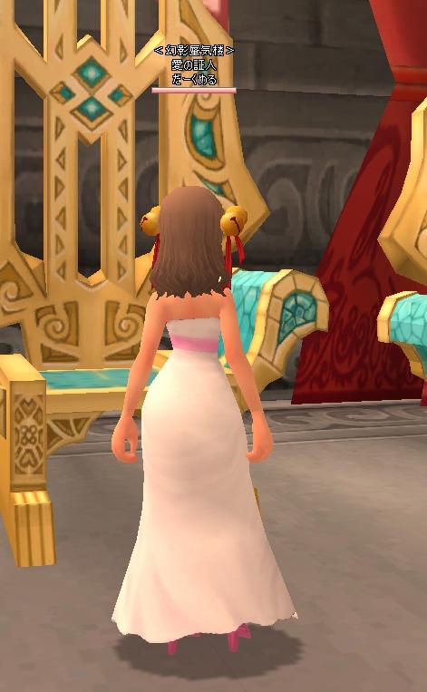 白いドレス2