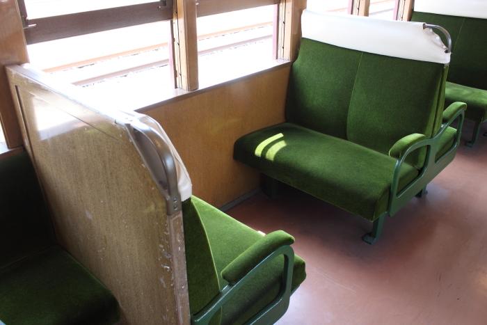 100型(P‐6)の座席