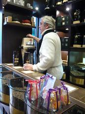 コーヒー屋のおっさん。