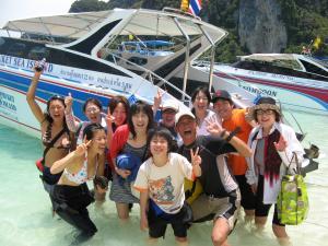 ダイビングプーケット ppスピードボート