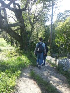 山辺の道を歩く♪