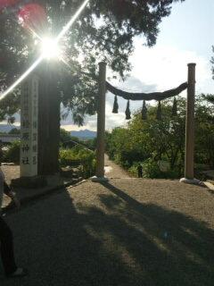 桧原神社からの眺め