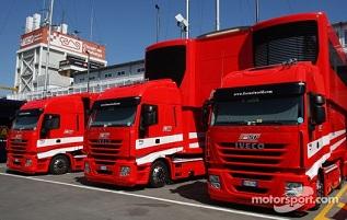 フェラーリのモーターホームbefor