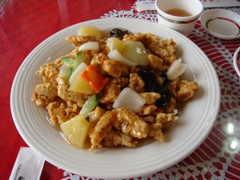 コーヒープリンス酢豚