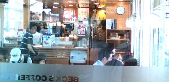 20110715新木場駅カフェ 内部 19cm