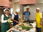 建設国保男の料理教室10