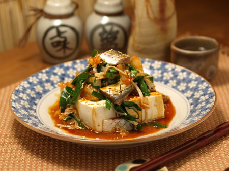 〆秋刀魚キムチ秋奴17