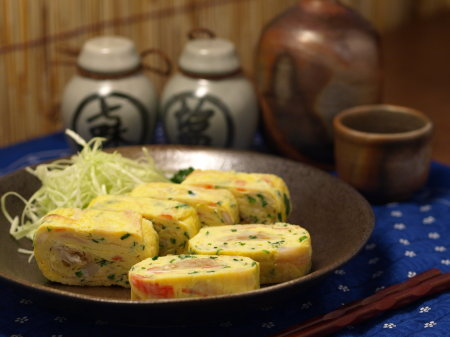 コロッケ、餃子玉子焼き25