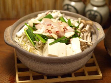 胡麻味噌もつ鍋03