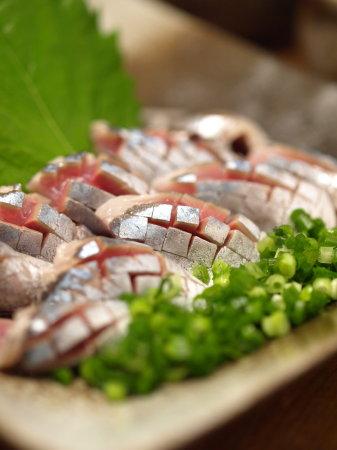 秋刀魚刺身、やまかけ26