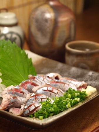 秋刀魚刺身、やまかけ22