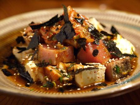 鰹キムチ豆腐03