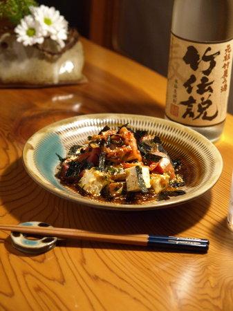 鰹キムチ豆腐01