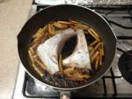 マグロカマ煮付け8