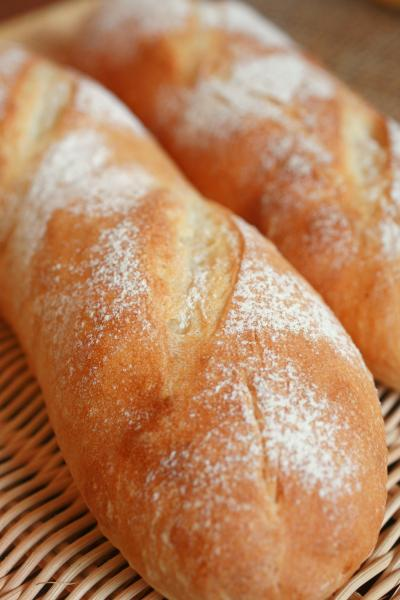 フランスパンいっぱい