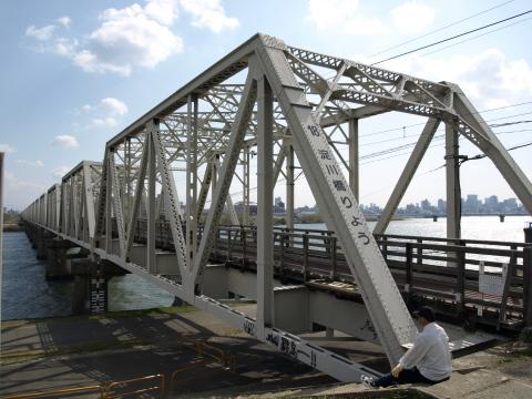 赤川鉄橋DD51-4