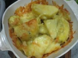 sweet potato & cheese