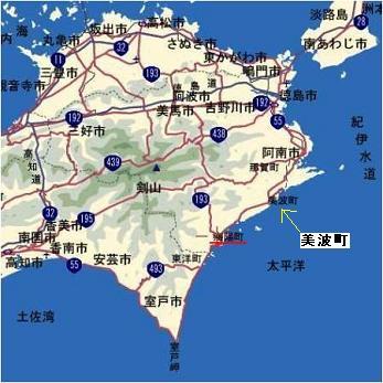 美波町MAP